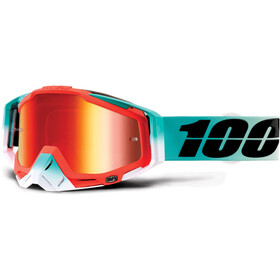 100% Racecraft Anti Fog Mirror goggles, cubica